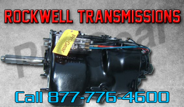 we offer rockwell transmission parts sales and service. we ship world wide